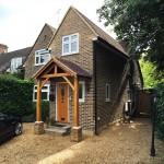 1. Keeps Architect, Extension, Porch, oak, planing application, surrey architect, Joaquin Gindre