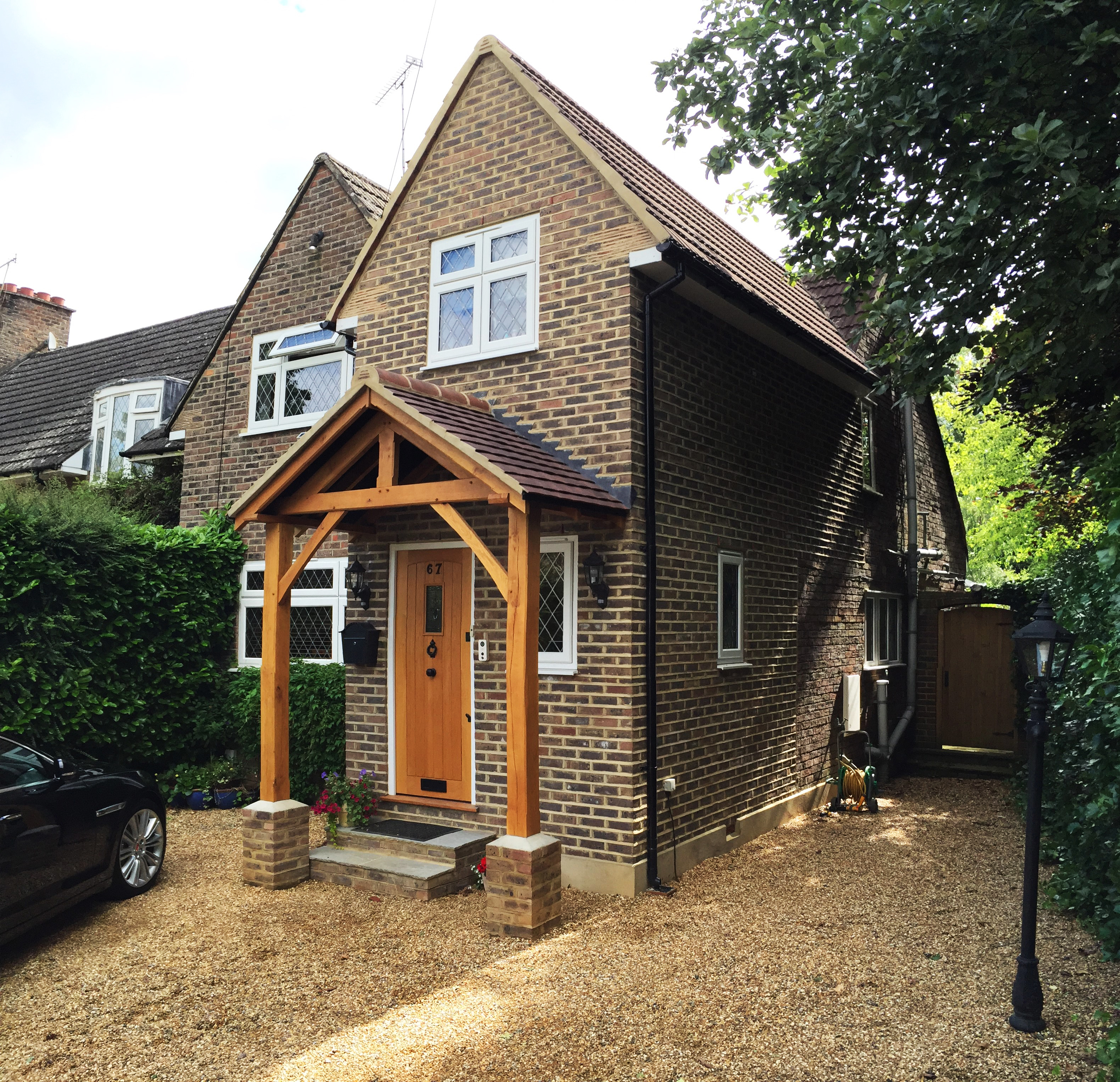Testimonials keeps architect joaquin gindre keeps for Porch extension