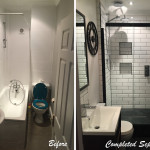 7 - Bathroom - Before - Complete,  Keeps Architect, Joaquin Gindre, Clapham renovation, refurbishment