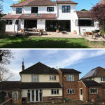 12-before-after-rear-joaquin-gindre-keeps-architect-esher-planning-application-extension-crittall-herringbone-timber-floor-exposed-beams-exposed-br