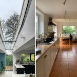 7 - Before - After Internal - Joaquin Gindre, Keeps Architect, rooflights, planning application, MVDC, Natural light, vaulted ceiling