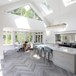 3 - Keeps Architect, Joaquin Gindre, Surrey Architect, Planning Application, Vaulted ceiling, new Kitchen, herringbone floor