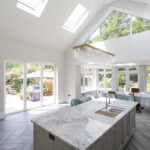 4 - Keeps Architect, Joaquin Gindre, Surrey Architect, Planning Application, Vaulted ceiling, new Kitchen, herringbone floor