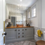 8 - Keeps Architect, Joaquin Gindre, Surrey Architect, Planning Application, Vaulted ceiling, new Kitchen, herringbone floor
