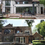 6 - Before & After - Rear Elevation